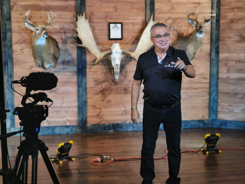 Daniel Gilbert oriente son tir à RDS avec « Bête de Chasse »!