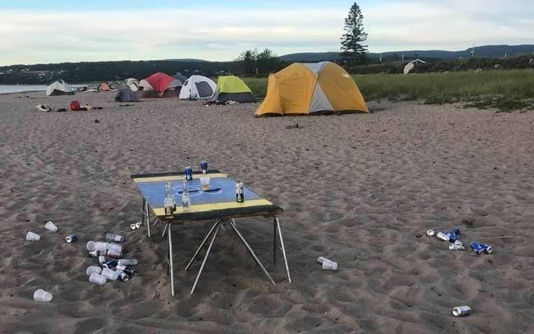 Camping sauvage à Gaspé: des consultations pour éviter le fouillis de l'été 2020