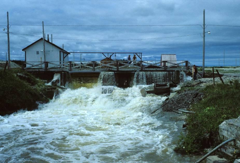 Anticosti: les travaux de restauration du canal Saint-Georges sont débutés