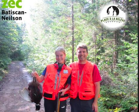 Zec Batiscan-Neilson: chef de file de la relève à la chasse avec arme à feu