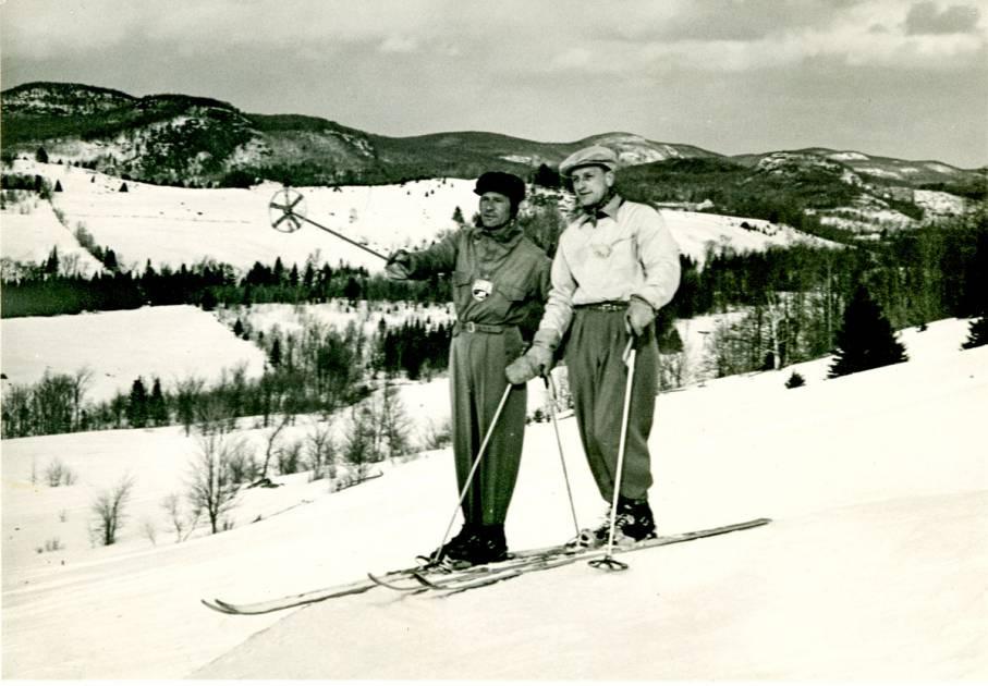 Les Laurentides et le ski : une vieille histoire d'amour