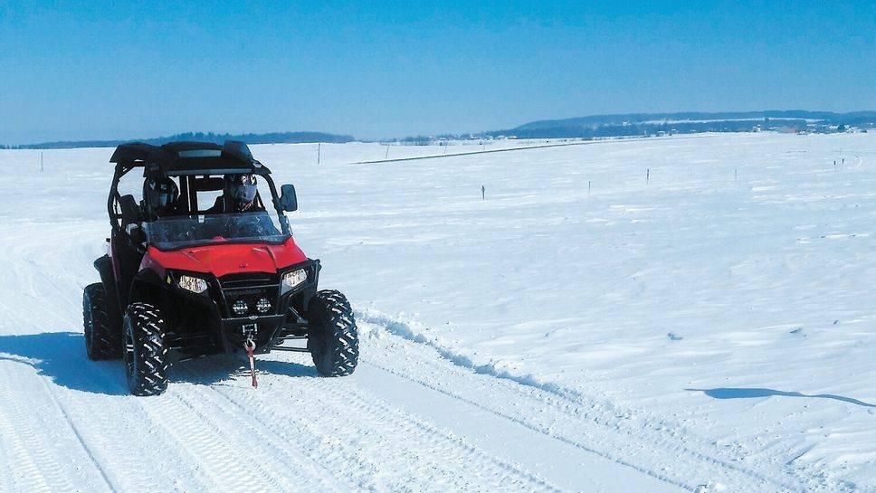 Les préparatifs se poursuivent vers une saison hivernale en quad