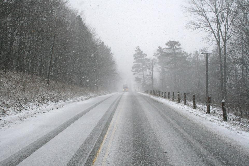 Pluie et neige pour la fin de la chasse du cerf de Virginie