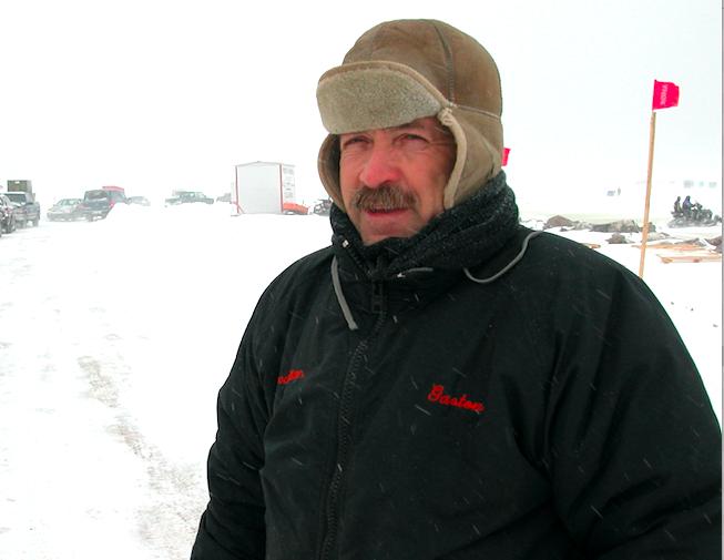 La pêche blanche débute sur la banquise en face de Rimouski
