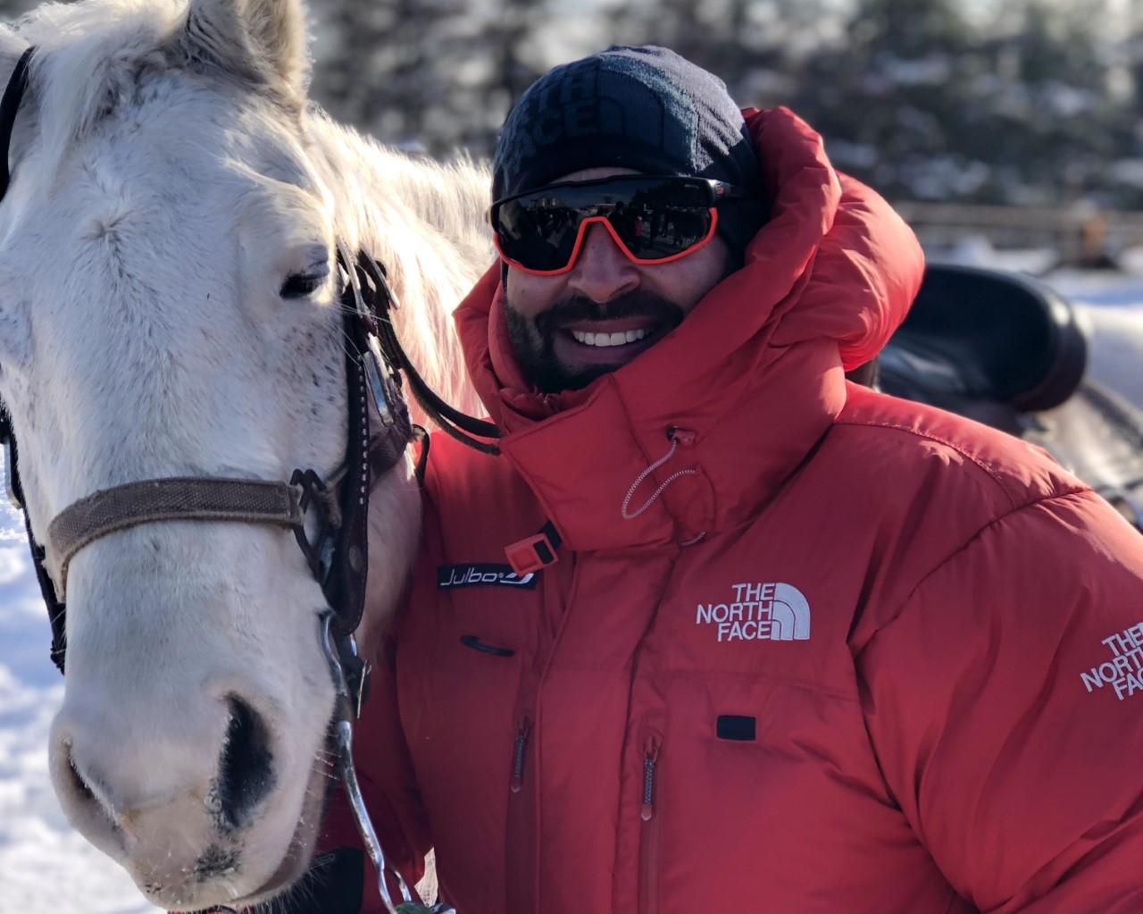 Randonnée à dos de cheval à vivre avec Alexis Nantel !