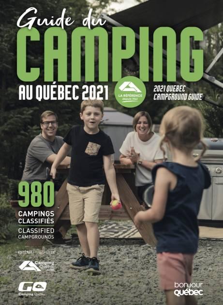 Lancement du Guide du camping au Québec 2021