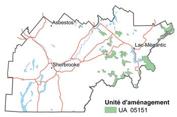 Activité d'information sur le plan d'aménagement forestier en Estrie