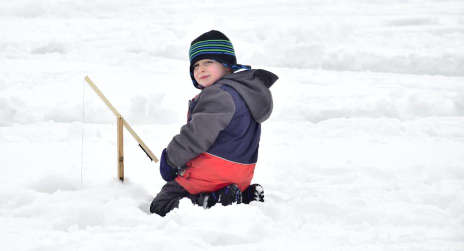 Le Groupe AIM va initier les 9-12 ans à la pêche d'hiver!