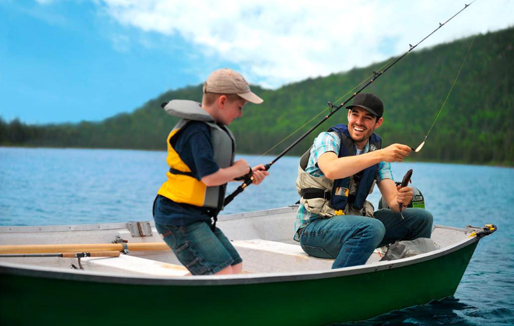 C'est un départ pour les réservations pour la pêche à la journée