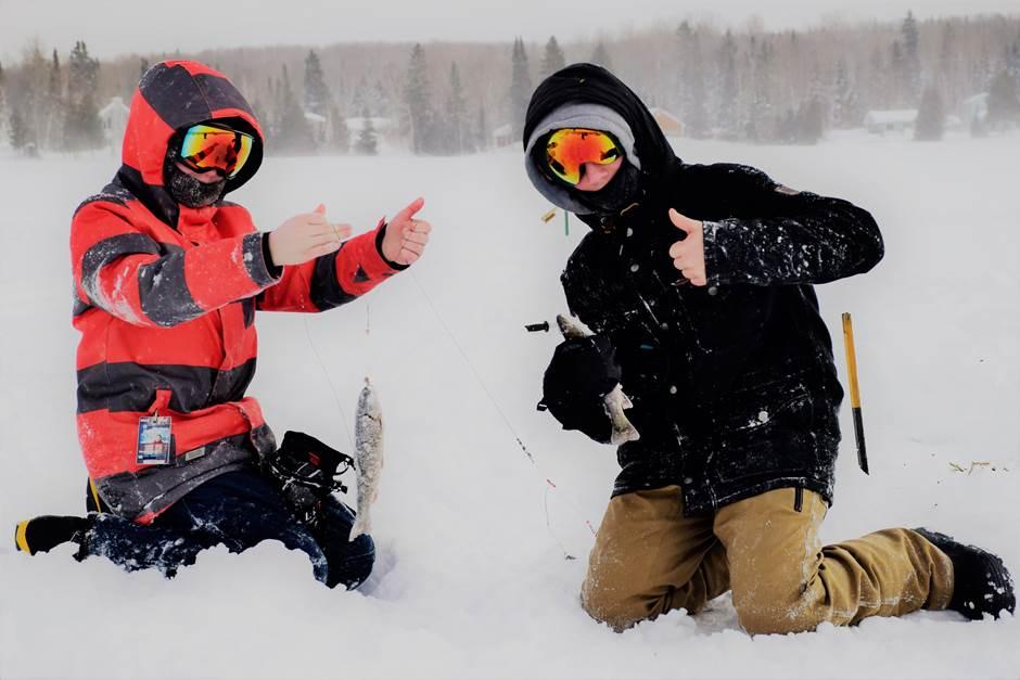 Une bourse est créé pour assurer la relève de la pêche d'hiver