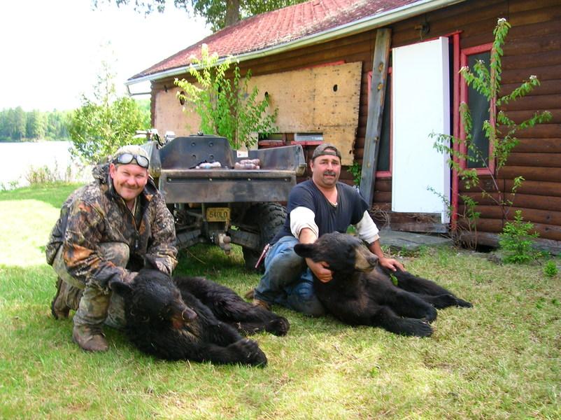 Projet clef en main pour la chasse à l'ours pour le Réseau Zec