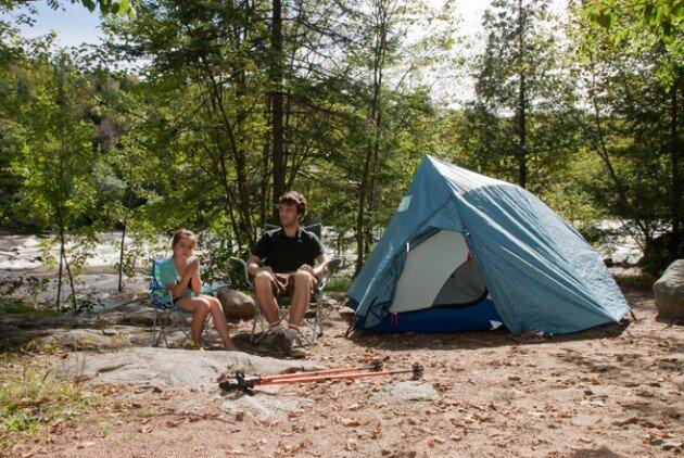 Ruée vers les parcs de la Mauricie pour le camping
