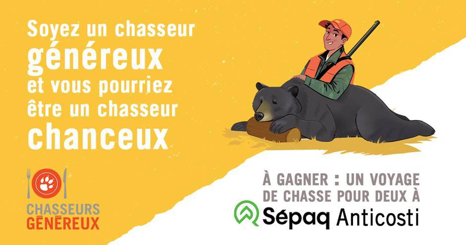 La FédéCP lance sa 5e saison du programme « Chasseurs généreux »