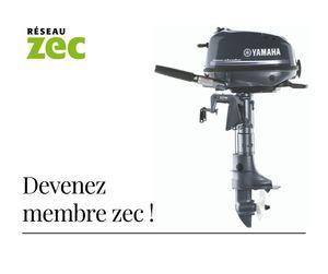 Gagnez un moteur hors-bord Yamaha grâce au Réseau Zec