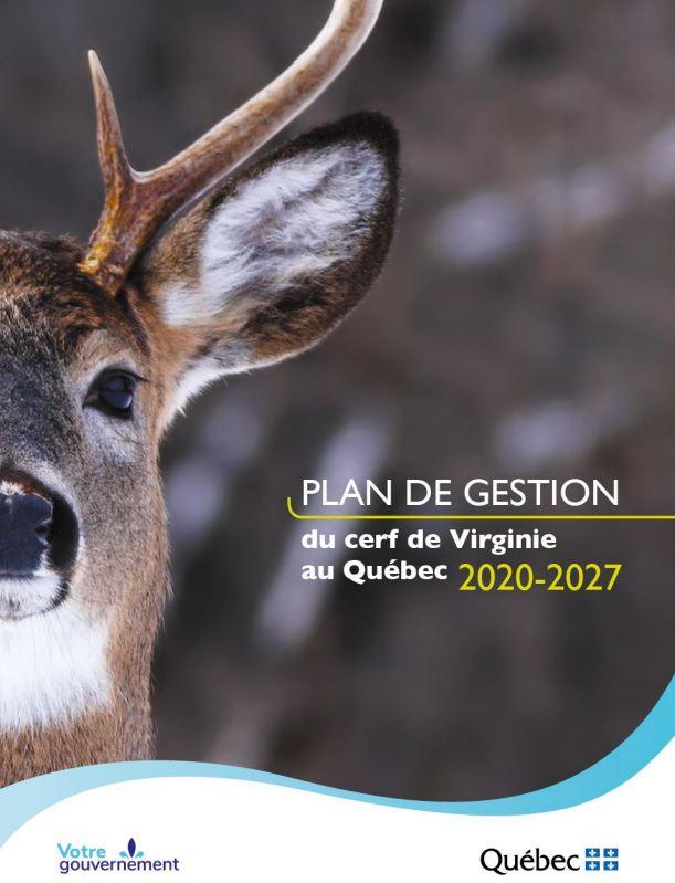 La version complète du Plan de gestion du cerf de Virginie en ligne
