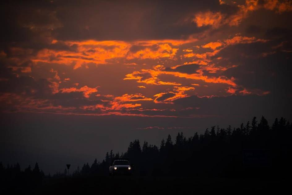 Des « tempêtes de feu » ont été observées dans l'Ouest canadien
