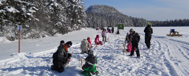 La Fondation de la faune initiera 2 300 jeunes à la pêche d'hiver