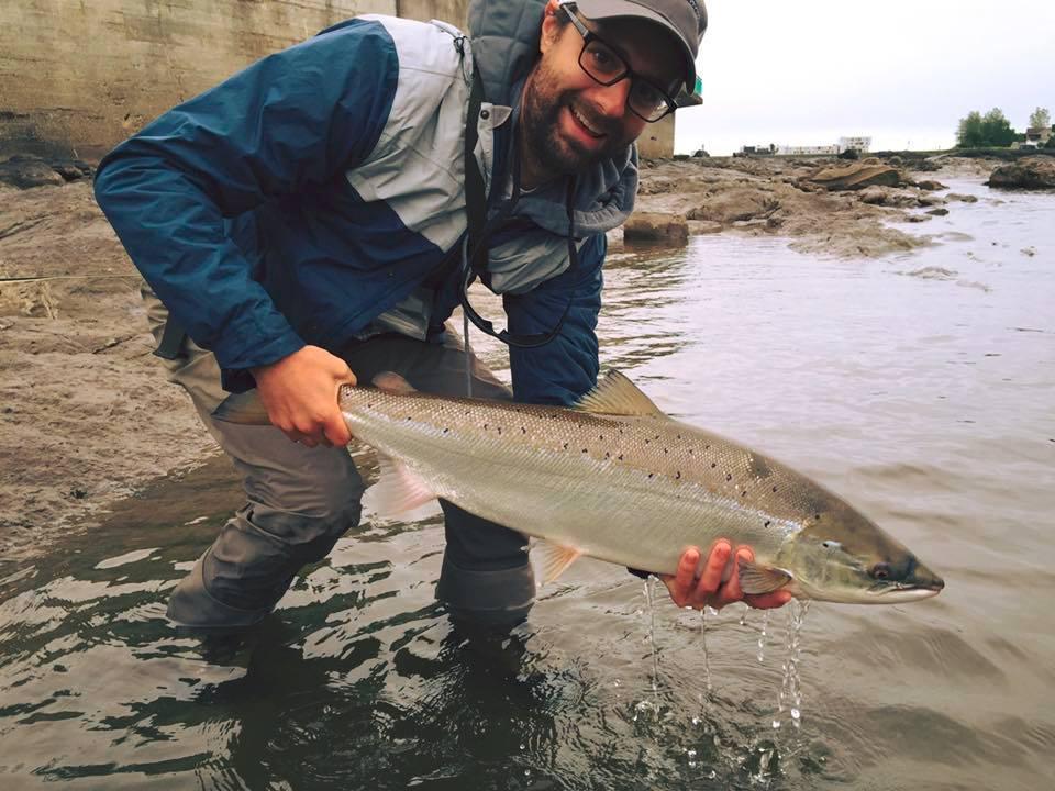Rivière Matane: obligation de remise à l'eau des grands saumons