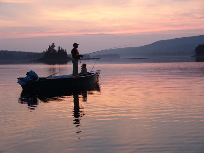 Le Grand lac Métis produit toujours de belles « grises » de bonne taille!