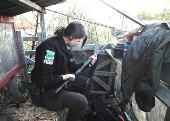 Les agents de la faune vont appliquer une loi renforcie !