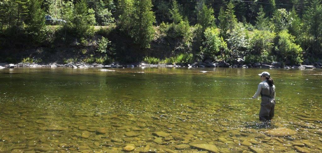 « Découvrez les rivières à saumon du Québec » sur le Web