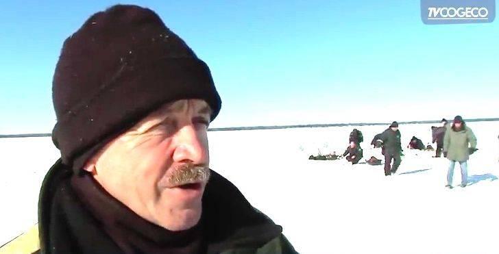 La pêche blanche de l'éperlan peut débuter sur la banquise à Rimouski