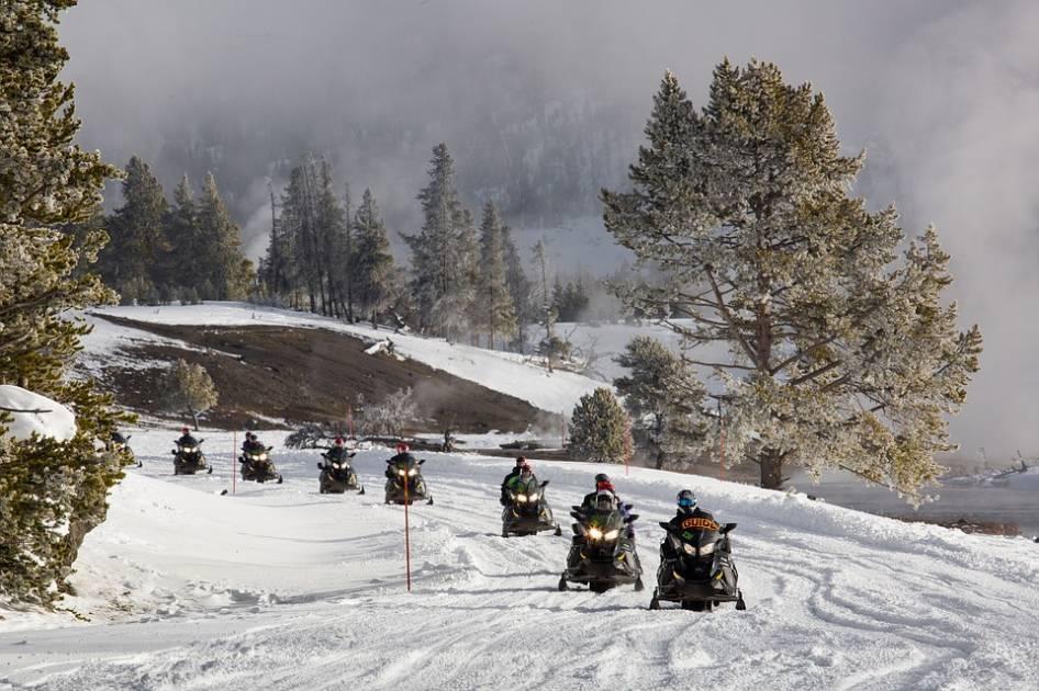 Un début de saison exceptionnel pour les motoneigistes
