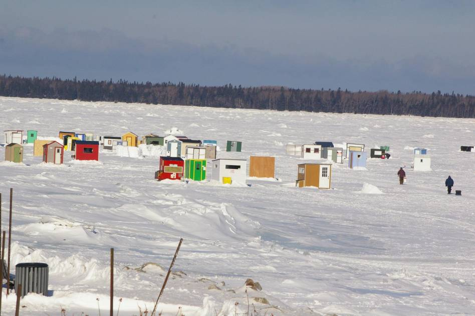 Les cabanes de pêche autorisées dès 9 h ce lundi!