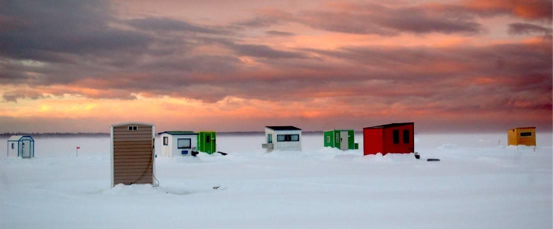 Certains appareils de chauffage des cabanes préoccupent des pêcheurs
