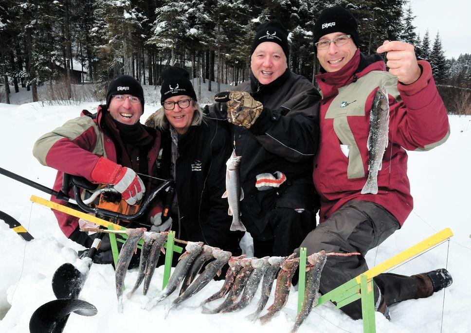 Une bonne destination de pêche hivernale