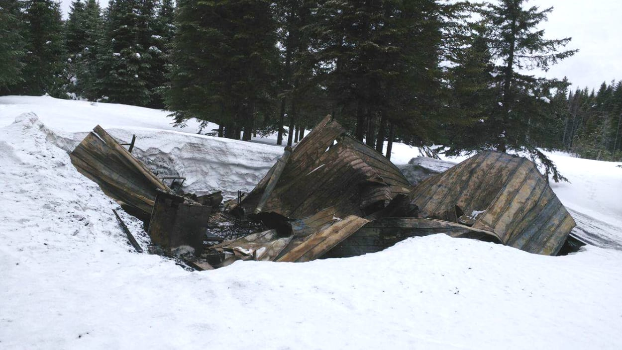 Soixante-trois camps de chasse seront incendiés en Gaspésie