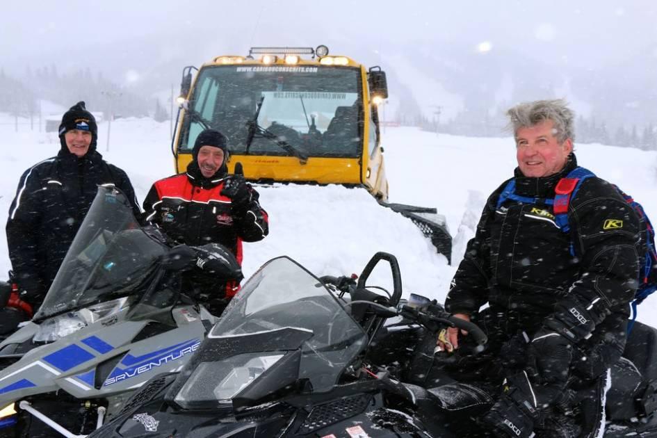 Au royaume des sentiers de neige