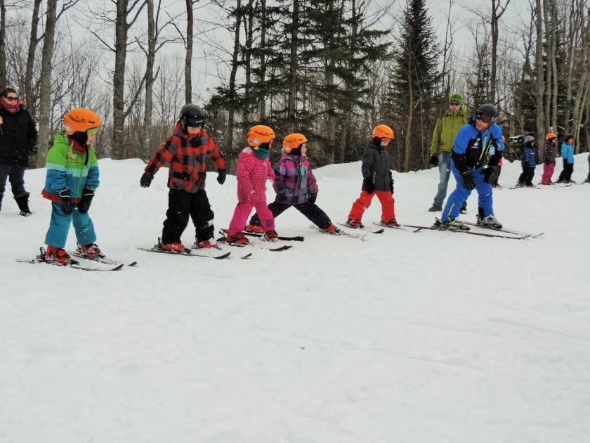 Découvrir le ski grâce à une journée d'initiation en montagne