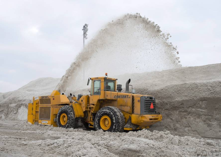 Le niveau moyen de neige pour un hiver entier quasiment déjà atteint à Montréal
