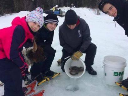 Un festival jeunesse de pêche blanche qui favorise la relève