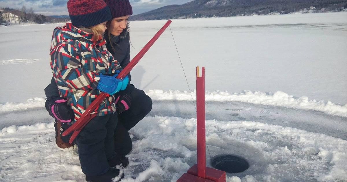 Ouverture du lac Grenon à la pêche d'hiver pour une journée en Outaouais
