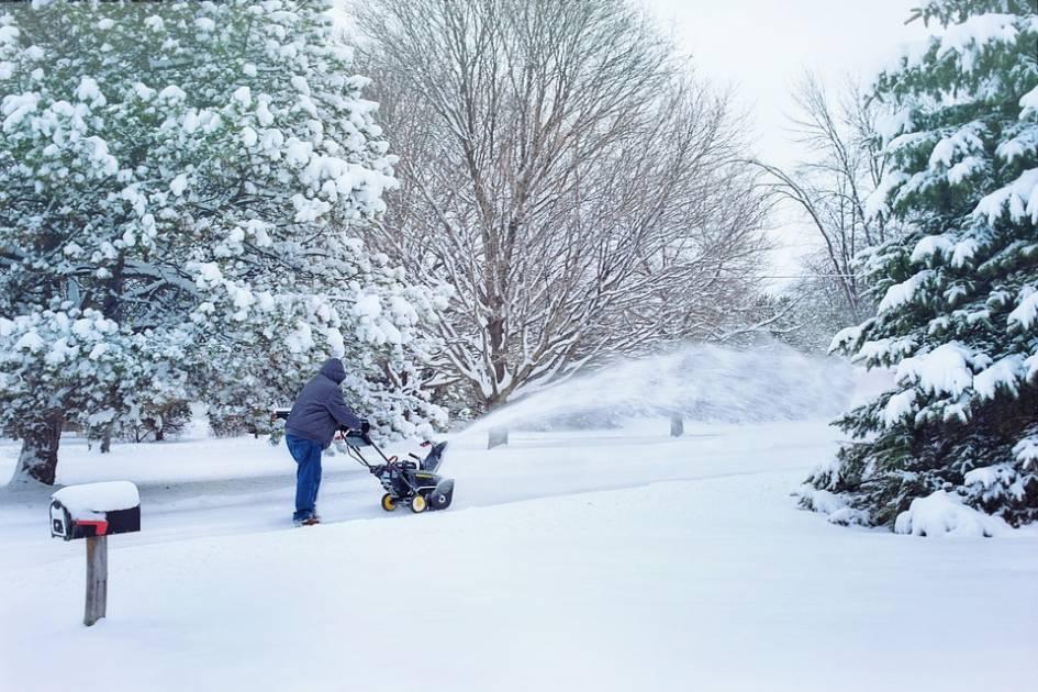 Neige sur l'est de la Gaspésie: entre 40 et 60 centimètres d'ici dimanche matin
