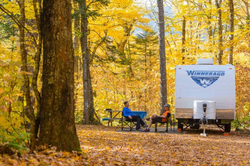 Il est possible de prolonger sa saison de camping en automne