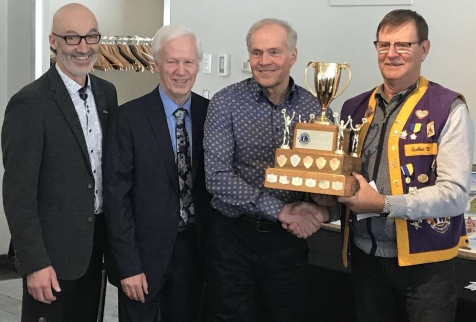 Marius DeChamplain gagne le titre de 53e personnalité sportive à Rimouski