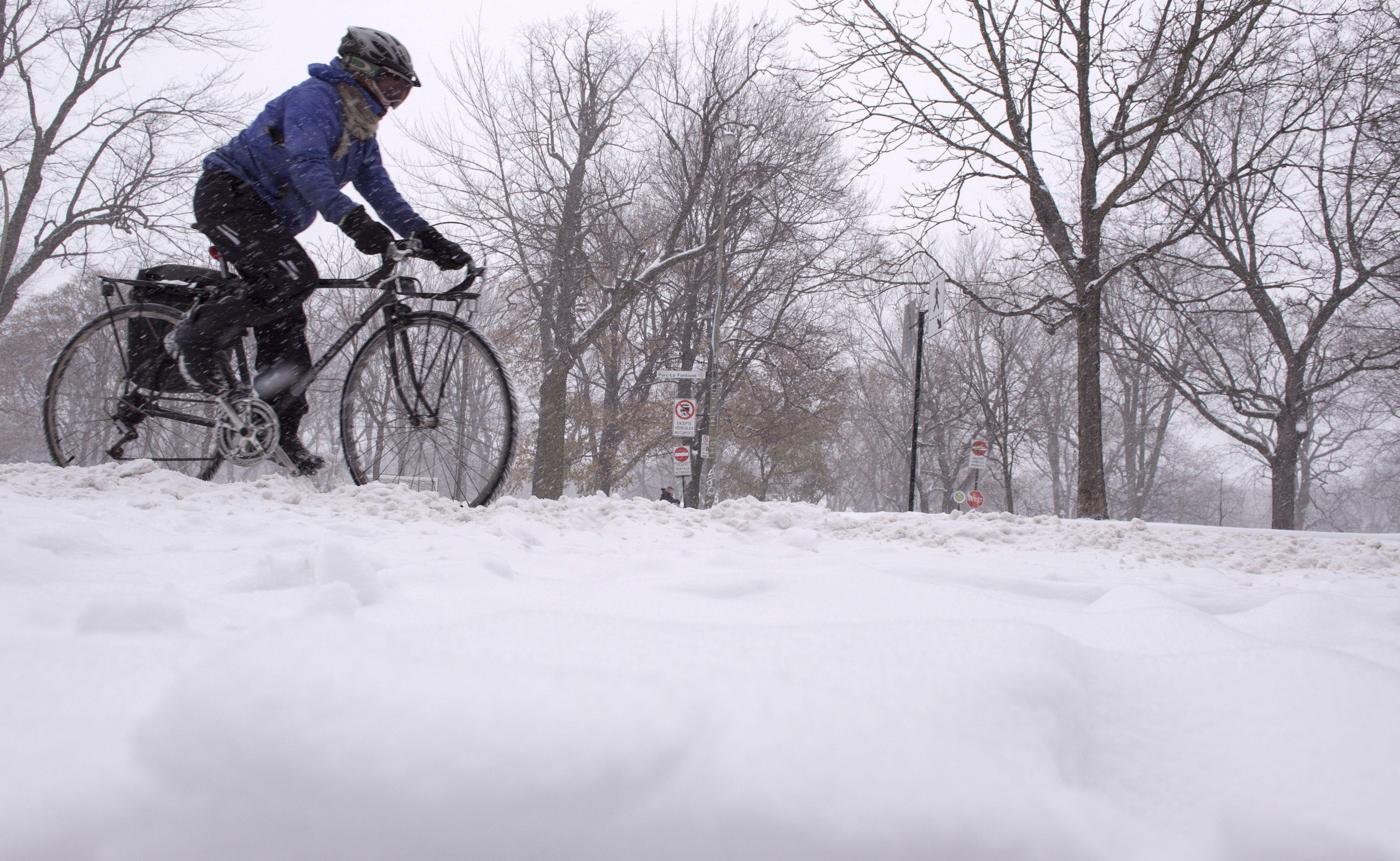 Les Québécois verront encore plusieurs centimètres de neige s'accumuler